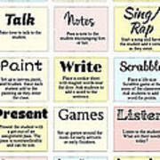 27 Ways To Greet Students Poster