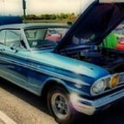 289 Ford Fairlane 500 Hdr Poster