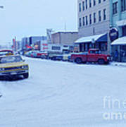 2nd Street Fairbanks Alaska 1969 Poster
