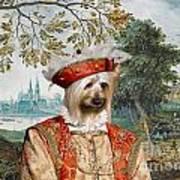 Silky Terrier Art Canvas Print Poster