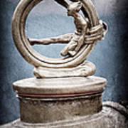 1912 Gobron-brillie 12 Cv Skiff Hood Ornament Poster