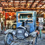 1919 Ford Model T Poster by Robert Jensen