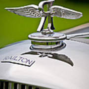 1937 Railton Rippon Brothers Special Limousine Hood Ornament Poster by Jill Reger
