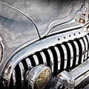 1947 Buick Eight Super Grille Emblem Poster