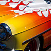 1954 Chevy Bel Air Custom Hot Rod Poster