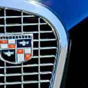 1956 Studebaker Golden Hawk Emblem Poster