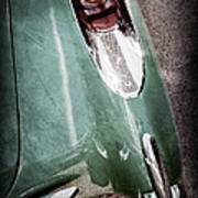 1957 Chevrolet Corvette Taillight Poster