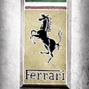 1959 Ferrari 250 Gt Emblem Poster