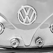 1959 Volkswagen Vw Panel Delivery Van Emblem Poster
