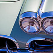 1960 Chevy Corvette Poster