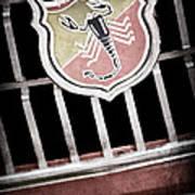 1967 Fiat Abarth 1000 Otr Emblem Poster