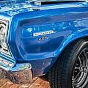 1967 Plymouth Belvedere Gtx 440 Painted  Poster