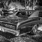 1967 Pontiac Gto Bw Poster