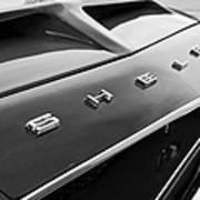 1968 Shelby Gt350 Hood Emblem Poster