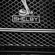 1969 Shelby Gt500 Convertible 428 Cobra Jet Grille Emblem Poster