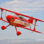 A Pitts Special S-2a Aerobatic Biplane Poster