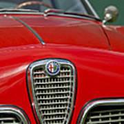Alfa Romeo Grille Emblem Poster
