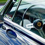 Alfa Romeo Steering Wheel Poster