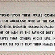 Anzac Day 2014 Auckland Poster