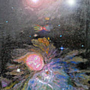 Aphrodite In Orion's Nebula Poster