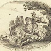 Balthasar Moncornet French Poster