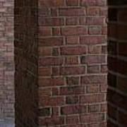 Brick Columns Poster