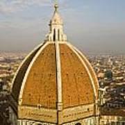 Brunelleschi's Dome At The Basilica Di Santa Maria Del Fiore Poster