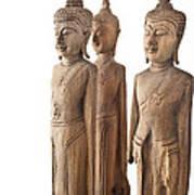 Buddha Figurine  Poster
