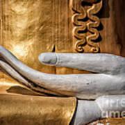 Buddha Hand Poster