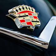 Cadillac Emblem Poster