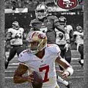 Colin Kaepernick 49ers Poster by Joe Hamilton