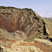 Corona Volcano On Lanzarote Poster