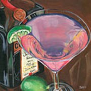 Cosmo Martini Poster