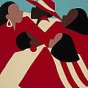 Crimson And Cream Poster