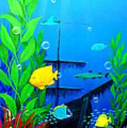 3-d Aquarium Poster
