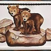 3-d Bearizona Bear Babies Poster