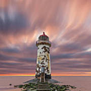Deserted Lighthouse Poster