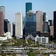 Downtown Houston Skyline Poster