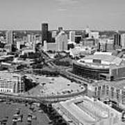 Downtown Skyline Of St. Paul Minnesota Poster