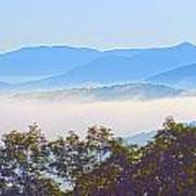 Early Morning On Blue Ridge Parkway Poster