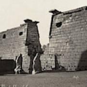 Egypt Luxor Temple Poster
