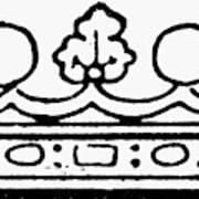 English Crown Poster