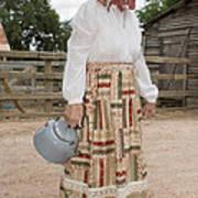 Farm Woman  Poster by Jim Pruitt