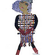 3 Ft Paper Doll Poster