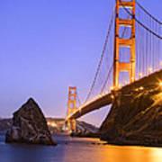 Golden Gate Bridge Poster by Emmanuel Panagiotakis