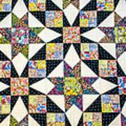 Hand Made Quilt Poster