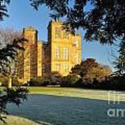Hardwick Hall Through The Trees Poster