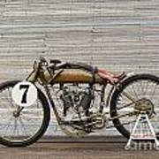 Harley-davidson Board Track Racer Poster