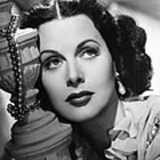 Hedy Lamarr, Ca. Early 1940s Poster
