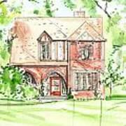 House Rendering Sample Poster